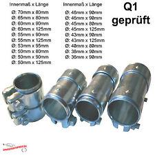 Rohrverbinder Doppelschelle verschiedene Größen zur Auswahl Auspuff Verbinder