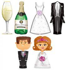AIRWALKER Foil Balloons Wedding Party Decor Gas/Helium/Air Var. Sizes/Topics New