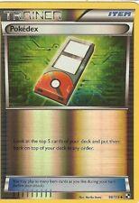 POKEMON BLACK AND WHITE - POKEDEX 98/114 REV HOLO
