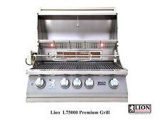 "LION L75000 4 BURNER 32"" DROP IN/BUILT IN BBQ ISLAND GAS GRILL"