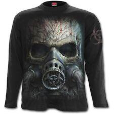 5769 Gothic Shirt T-Shirt BIO-SKULL M bis 2XL langarm von Spiral