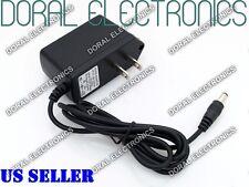 9V DC 0.5A 1A 2A Power Supply Adapter 110/220 9 V Volt 9Volt Wall 500ma 1000ma