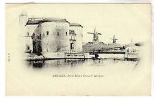 Porte Sainte Croix - Bruges Photo Postcard c1899