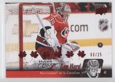 2010-11 Upper Deck French Red #162 Cam Ward Carolina Hurricanes Hockey Card
