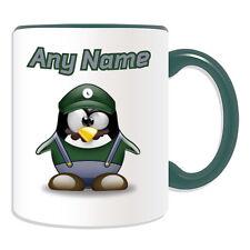 Regalo Personalizzato Tazza da Luigi Money Box COPPA Divertente Novità Penguin IDRAULICO Mario NOME