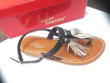 Atelier tropezien sandale cuir NEUVE Valeur 59E Pointures 36,38,39,40