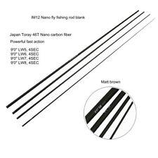 Aventik IM12 Nano Fly Fishing Rod Blanks 4SEC 9FT Fast Action Light rod blank