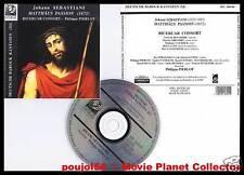 "SEBASTIANI ""Matthaus Passion"" (CD) Ricercar 1995"