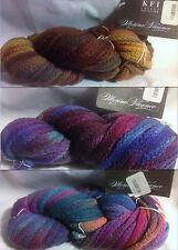 KFI Luxury 100% Merino Flounce Yarn 100g Hank Color Choice Knit Crochet FS