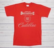 T-shirt Cadillac sponsor Tampa Bucaneers rossa S-L