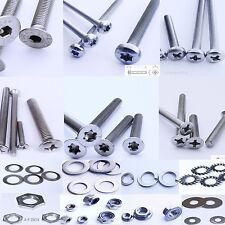 100 LinsenKopfschrauben Senkschrauben   Edelstahl VA screws stainless steel INOX