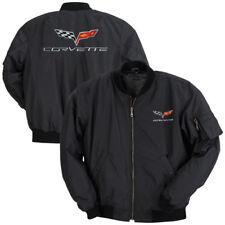 C6 Corvette Black Aviator Jacket