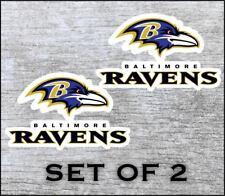 Baltimore Ravens Sticker Decal Vinyl Set Of 2 Cornhole Truck Car