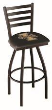 Idaho Vandals HBS Black Ladder Back High Top Swivel Bar Stool Seat Chair