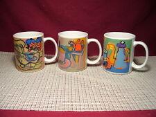 Set of 3 Timothy's World Coffe Mugs