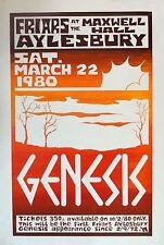 0516 Vintage Music Poster Art - Genesis At Aylesbury