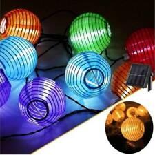 Solar Chinese Lantern Fairy String Lights LED Garden Xmas Party Decora Lamp AU