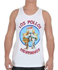 Breaking Bad LOS POLLOS HERMANOS Tank Top T-Shirt NEW Licensed & Official