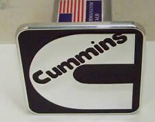CUMMINS hitch cover, CUMMINS BLACK ,DODGE,FORD,CHEVY