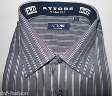Camicia uomo classica grigia riga blu € 8,90 art 05