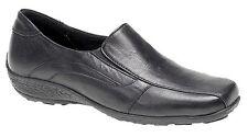 Chaussures femme infirmière travail marche en cuir compensées PLAT COMFY DOUX SOUPLE chaussure boot
