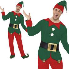 hommes Déguisement Lutin Noël Elfes Costume tailles M-XL