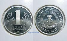 DDR 1 Mark PP (Polierte Platte) 1982-1989 *** Jahr zur Auswahl