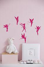 Fairy Wall Decals for Girls Room Vinyl Sticker Home Decor Nursery Kids L438