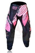 Atrox moto pantaloni Maxdura traforati estivi cross enduro donna nero rosa