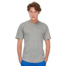 T-Shirt B&C Uomo BCTU006 Unisex EXACT V NECK 100% COTONE