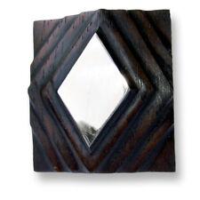 Designer Ring Holz mit Edelstahl Wood with Stainless Steel Natur Schmuck AR050