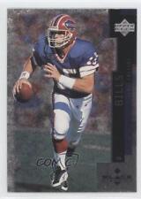 1998 Upper Deck Black Diamond #128 Todd Collins Buffalo Bills Football Card