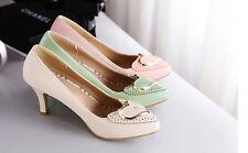 Zapatos Zapatos de salón mujer tacón de aguja 7 cm disp en 3 colores 8433