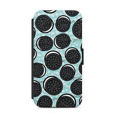 Oreo BISCOTTI modello Lovely MUNCH Wallet Flip Telefono Custodia Cover iPhone & Samsung