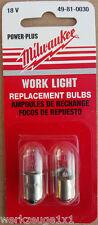 Milwaukee Ersatzbirne Lampe 12V 14,4V 18V 28V Xenon für C12T C18WL V28L