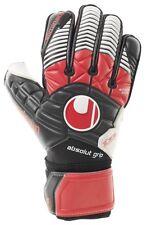 Uhlsport Eliminator Absolutgrip Football Goalkeeper GK Gloves Black Red White