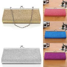 Gliter Women Rhinestone Handbag Evening Party Clutch Bag Wedding Wallet Purse