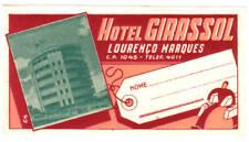 LOURENCO MARQUES MOZAMBIQUE HOTEL GIRASSOL DECO LABEL