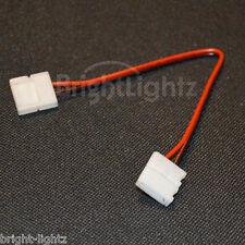 3528 & 5050 LED STRIP LIGHT SOLDERLESS CONNECTORS LINK WIRES CORNER JOINERS UK
