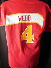 Atlanta Hawks Spud Webb #4 Mitchell & Ness Hardwood Classics Tee Shirt