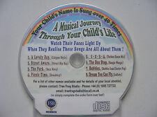 Children's personalizzato CD, nomi che iniziano con L-Z