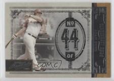 2005 Playoff Prime Cuts #40 Adam Dunn Cincinnati Reds Baseball Card