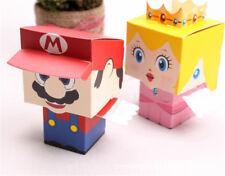 100pcs Animals Candy Treat Gift Box Cardboard Bags Birthday Wedding Party Favor