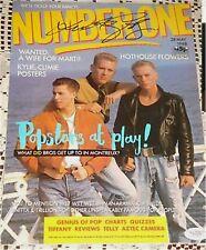 Luke Goss BROS Signed UK 1988 Number One Mag JSA Proof