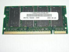 Original 512MB RAM IBM ThinkPad FRU 10K0033 31P9833 T30 R40 A31 A31P R41 R32
