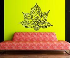 Wandtattoo Lotusblume Wandaufkleber Aufkleber Lotus Lotusblüte Blume Mandala