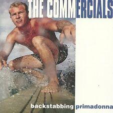 8 Track CD Album  THE COMMERCIALS  Backstabbing Primadonna MINT FLOTSAM & JETSAM