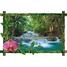 Sticker Bambou déco longue cascade977