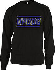 Updog Sup Dawg Funny Humor Joke Hilarious Meme Trendy Cool Long Sleeve Thermal
