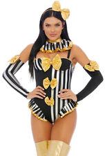 Forplay womens Circus clown bodysuit costume set